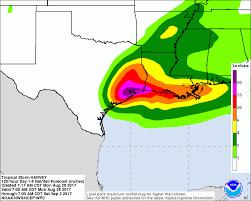 houston louisiana map hurricane harvey rainfall 2 in louisiana