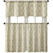 36 Inch Kitchen Curtains by 36 Inch Beige Kitchen Curtains For Window Jcpenney