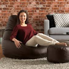 buy gaming bean bag chair in faux leather beanbag bazaar