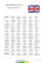 56 free esl word formation worksheets for pre intermediate a2 level