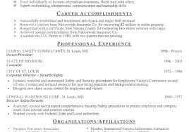 Resume Examples For Security Guard by Security Officer Resume Example Qualifications And Career