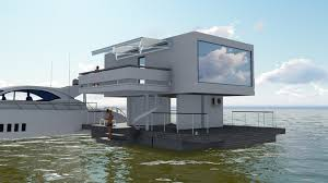 Friday Floatwing by Floating House Luxury Apartments Architectural Workshop Efremoff