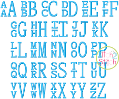 stacked monogram stacked serif embroidery monogram font the itch 2 stitch
