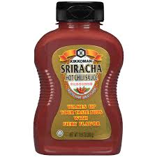 sriracha bottle kikkoman sriracha chili sauce 10 6 oz squeeze bottle