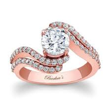 pink gold engagement rings barkev s gold engagement ring 7912lp barkev s