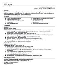 babysitting resume template babysitting resume template sle shalomhouse us