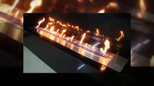 bx180 electronic remote controlled ethanol fireplace insert youtube