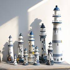 wooden lighthouse ebay