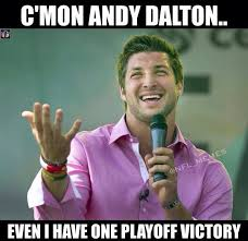 Cincinnati Bengals Memes - nfl memes on twitter andy dalton remains winless in the playoffs