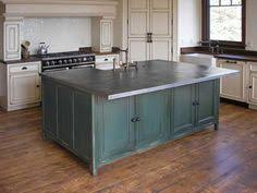 kitchen island with stainless top rustic kitchen island places and spaces rustic
