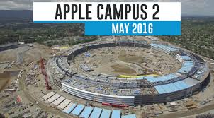 New Apple Headquarters New Drone Video Shows Current Status Of Apple U0027s Campus 2 Project