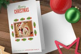 personalised christmas cards designed just for you the press gang
