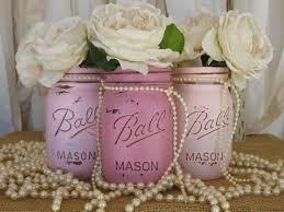 Ball Jar Centerpieces by 75 Best Mason Jars Painted Images On Pinterest Pint Mason Jars