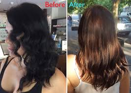 my hair colour transformation at perth hair salon fatty arbuckles