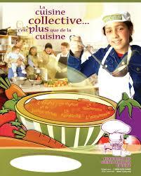 a la cuisine affiche promotionnelle sur les cuisines collectives les frais de