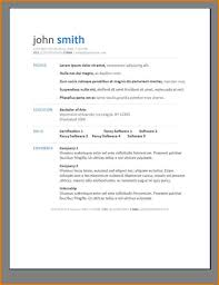 modern resume format free resume templates creative microsoft word ms template with