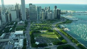 Michigan business travel images Aerial chicago illinois america metropolitan aron tower millennium resiz