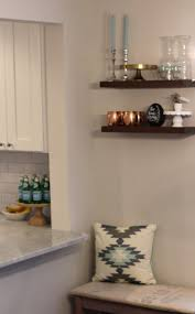 diy floating wooden shelves