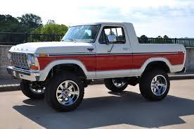 Old Ford Unibody Truck - 1978 ford bronco xlt custom