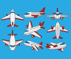 free cartoon airplane vectors vector art u0026 graphics freevector