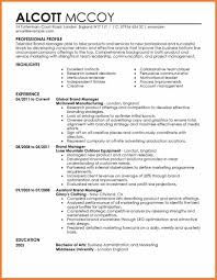Resume Manager Marketing Manager Resume Sop Proposal