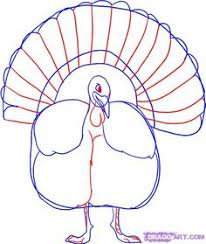 how to draw a thanksgiving turkey step 8 color thanksgiving for