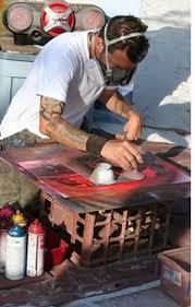 Spray Paint Artist - dave siddens spray paint artist pier 60 clearwater beach florida