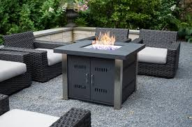 Outdoor Table With Firepit by Pleasant Hearth Montreal 38