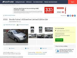Auto Ads We Love We The Lounge Cheers And Gea by Leeds Man Selling His Skoda Is Bombarded By Prank Buyers Daily