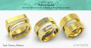couples rings gold images Couple 39 s bands and couple 39 s rings diamondere blog jpg