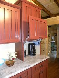 Cabinet Garage Door Lift Up Door On Appliance Garage Farmhouse Kitchen Other