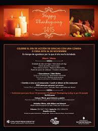 disfruta el tradicional thanksgiving the palm mexico city