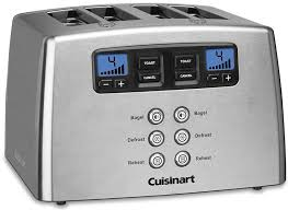 Cuisinart Toaster Cpt 180 Highly Rated 4 Slice Toaster Brands