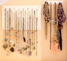 box necklace holder images Interior creative diy necklace hanger out of the box idea jpg