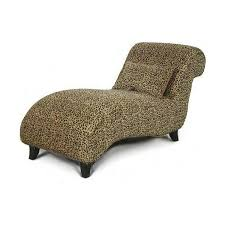 new leopard chaise lounge chair animal print for sale