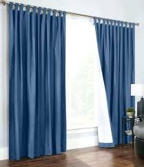 tab top curtains blue double wide tab top curtain pair blue red kite tab top curtains