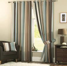 Curtains For Light Brown Walls Furniture Trendy Chocolate And Cream Curtain Style For Living