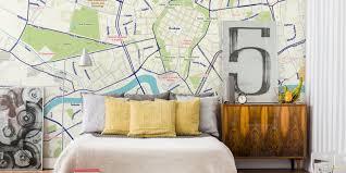 create a map mural custom map mural customaps reykjavik in our krakow in our