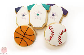 sport themed baby shower sports themed baby shower cookies cookies