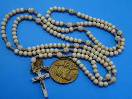 15 decade rosary antique 15 decade rosary bone monastery 1880