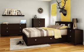South Shore Step One Platform Bed With Drawers King Chocolate South Shore Karma Mate U0027s Bed With Storage U0026 Reviews Wayfair