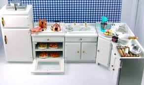 dollhouse miniature kitchen furniture the mouse market
