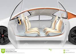 autonomous car u0027s interior concept the car offer folding steering