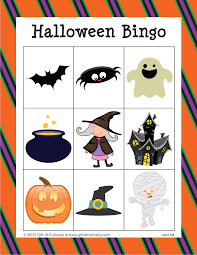 halloween bingo gift of curiosity