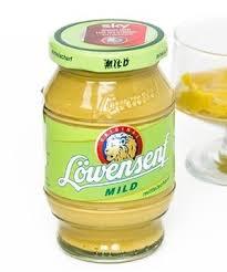 lowensenf mustard löwensenf mild german mustard in a glass rich aroma