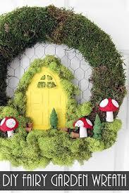 create link inspire linky party 181 diy fairy garden wreaths