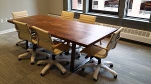 Metal Conference Table Conference Table With Metal Bench Legs