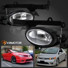 for 2006 2008 honda civic 2dr coupe si bumper fog lights switch ebay