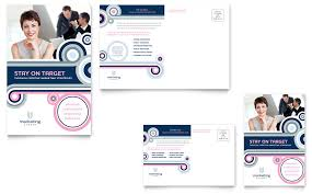 10 best images of for business marketing postcard designs