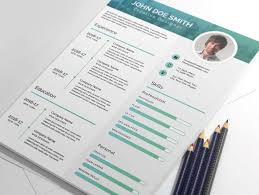 Free Elegant Resume Templates 20 Creative U0026 Simple Resume Templates For Designers